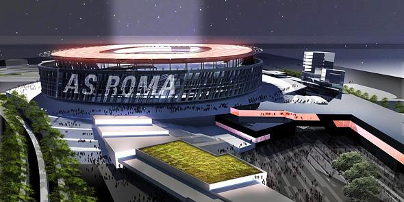 הדמיה של האצטדיון החדש