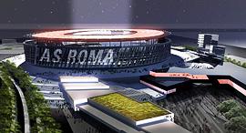 הדמיית האצטדיון ברומא. הלוואה מגולדמן זאקס, צילום מסך: Youtube