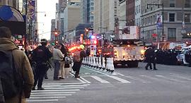 פיצוץ מנהטן תחנה מרכזית ניו יורק, צילום: NBC New York