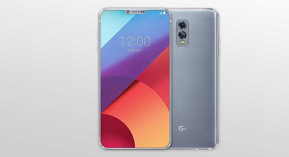 עיצוב קונספט LG G7