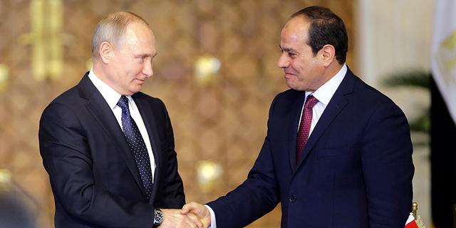 """שדה הגז הגדול במזה""""ת יקדם את מצרים לעצמאות אנרגטית"""