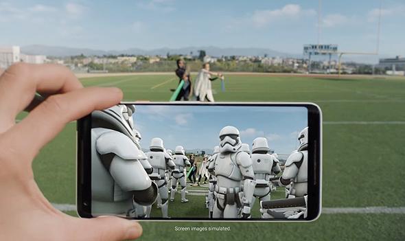 מציאות מוגברת גוגל AR מלחמת הכוכבים Stranger Things