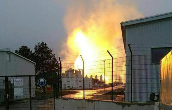 השריפה במתקן הגז באוסטריה
