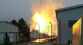 פיצוץ מתקן גז טבעי אוסטריה, צילום: AFP