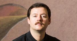 פנאי ג'יימס אנסוורת' אמן בריטי, צילום: תומי הרפז