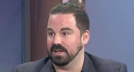 מיליונר ביטקוין גרנט סבאטייר, צילום מסך: WGN-TV