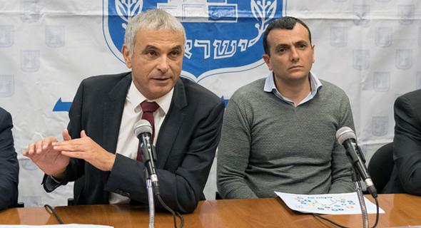 """שי באב""""ד שי ו משה כחלון, צילום: יואב דודקביץ"""