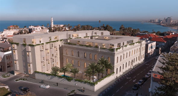 הדמיית פרויקט W ביפו, מול הנמל, הדמיה: 3DVISION הדמיות ממוחשבות, starwoodhotels