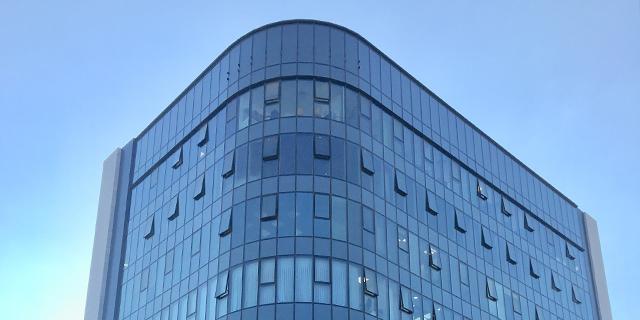 """הבניין שרכשה קרן מניבים, צילום: יח""""צ"""
