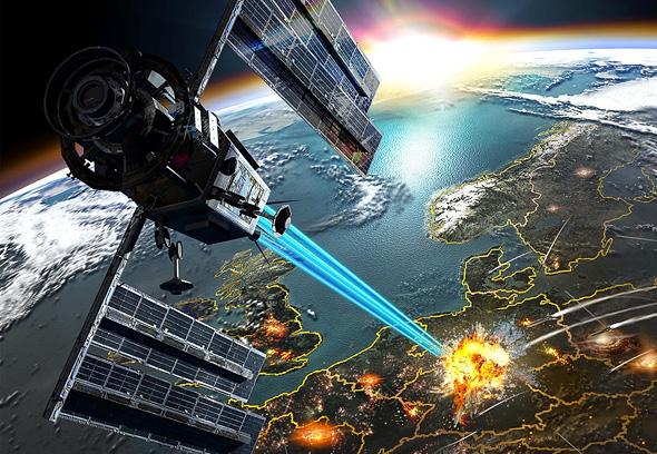 הפצצות מהחלל? רעיון מסוכן
