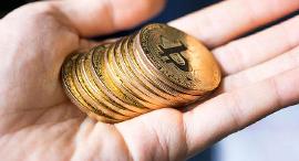ביטקוין מטבע וירטואלי קריפטו כסף דיגיטלי , צילום: Getty