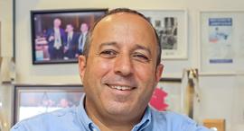 """ירון צפדיה מנכ""""ל משותף ב ניופאן, צילום: יח""""צ"""