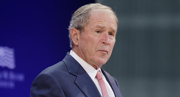 """נשיא ארה""""ב לשעבר ג'ורג' בוש"""