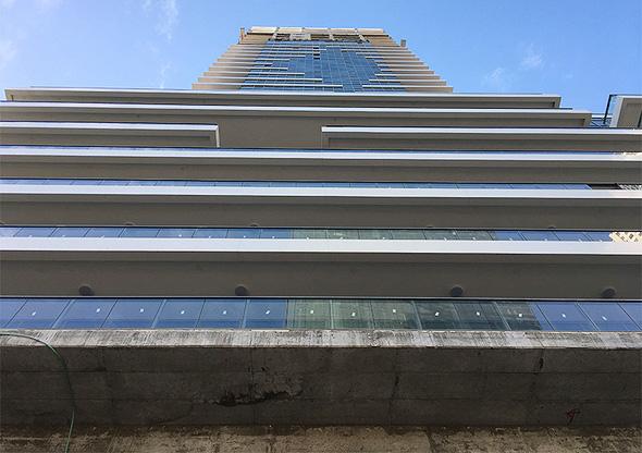 מגדל משרדים בבנייה ברמת גן, צילום: אריק דורי