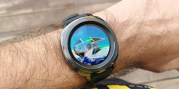 סמסונג שעון חכם Gear Sport מחשוב לביש 1, צילום: ניצן סדן