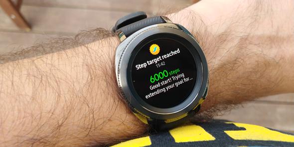 סמסונג שעון חכם Gear Sport מחשוב לביש 2, צילום: ניצן סדן