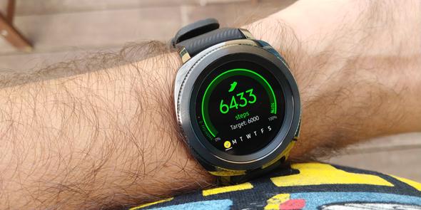 סמסונג שעון חכם Gear Sport מחשוב לביש 3, צילום: ניצן סדן