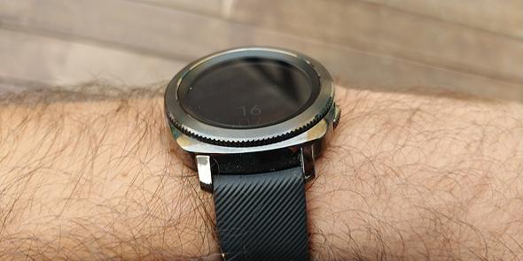סמסונג שעון חכם Gear Sport מחשוב לביש 4, צילום: ניצן סדן