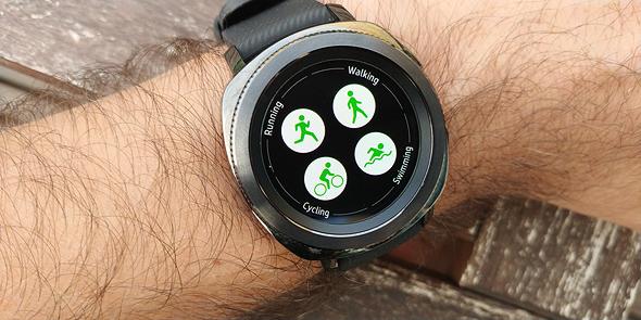 סמסונג שעון חכם Gear Sport מחשוב לביש 7, צילום: ניצן סדן
