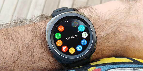 סמסונג שעון חכם Gear Sport מחשוב לביש 8, צילום: ניצן סדן