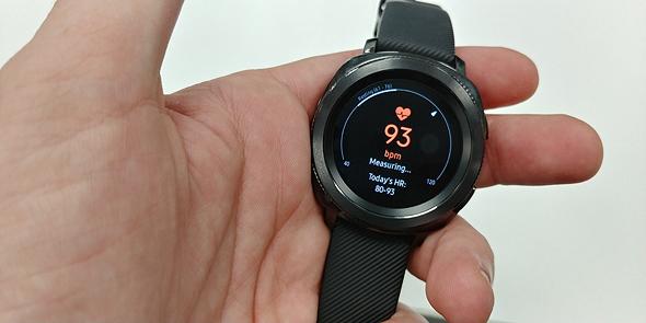 סמסונג שעון חכם Gear Sport מחשוב לביש 10, צילום: ניצן סדן
