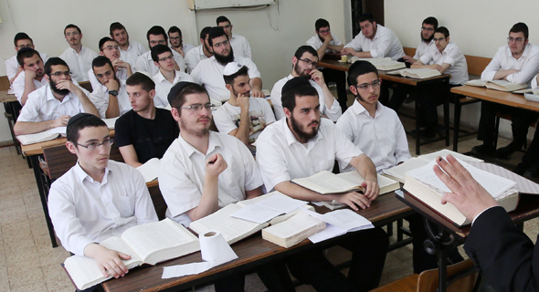 Ultra-Orthodox students, Israel. Photo: Shaul Golan