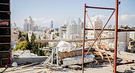 אתר בנייה זירת הנדלן, צילום: אוהד שביט