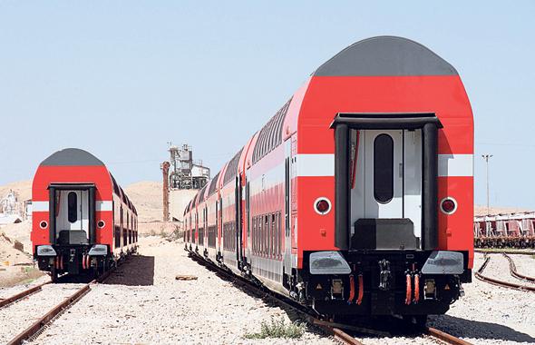"""קרונות רכבת של בומברדייה, צילום: יח""""צ"""