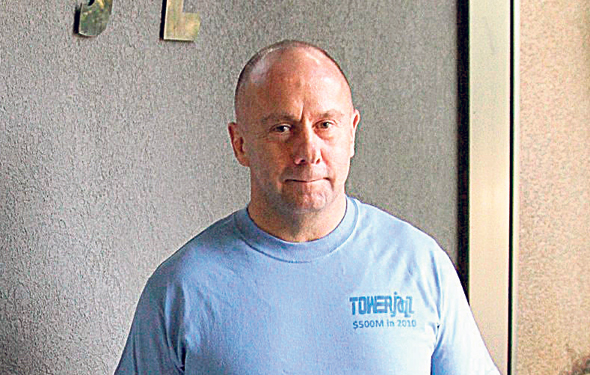 Tower CEO Russell Ellwanger. Photo: Zohar Shachar