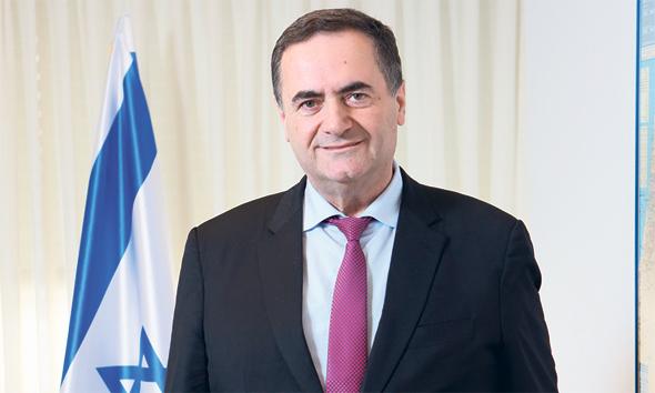 שר תחבורה ישראל כץ, צילום: אלכס קולומויסקי