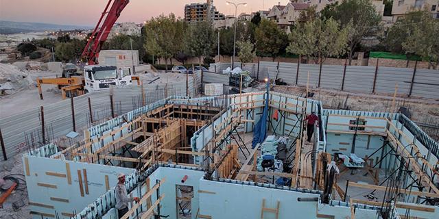 ענף הבנייה: ממוצע של 5,669 משרות לא מאוישות