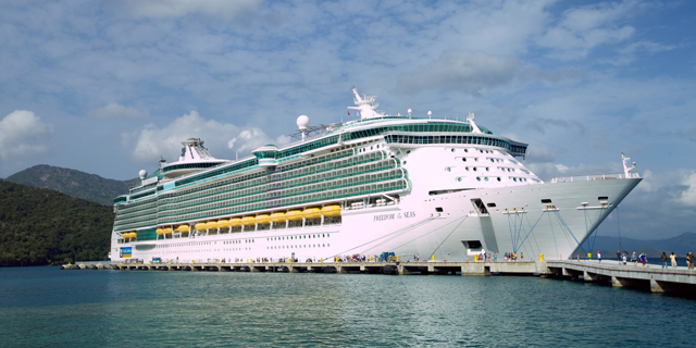 ספינה של רויאל קריביאן , צילום: קשרי תעופה