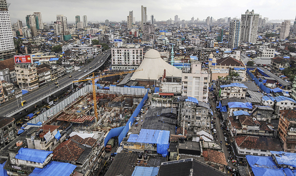 Mumbai skyline. Photo: Bloomberg