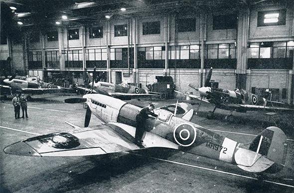 בניית מטוסי קרב במלחמת העולם השנייה