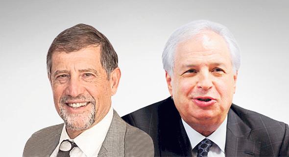 מימין שאול אלוביץ' ו נתי סיידוף, צילום: יובל חן, מתוך אתר IAC
