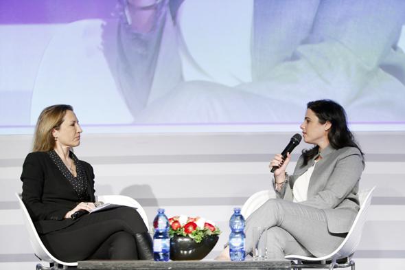 איילת שקד שרת המשפטים בשיחה עם גלית חמי עורכת כלכליסט, צילום: עמית שעל