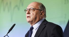 ועידת התחזיות 2018 פרופ' ליאו ליידרמן היועץ הכלכלי הראשי בנק הפועלים, צילום: עמית שעל