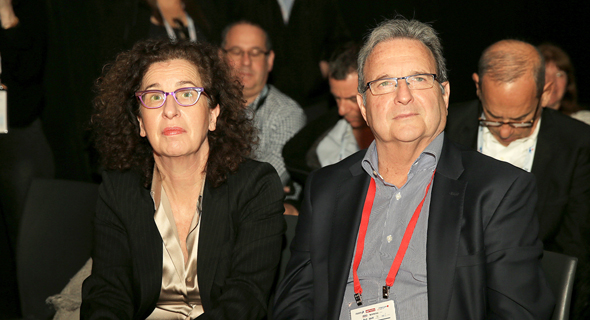 מימין: מאיר בראון וענת לוין, צילום: אוראל כהן
