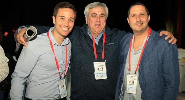מימין: עידו הר טוב, עוזי ברזילאי ותומר כהן, צילום: אוראל כהן