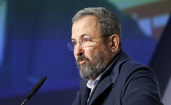 Ehud Barak. Photo: Amit Sha'al