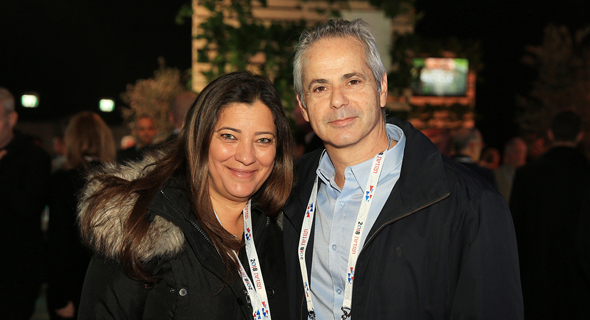 מימין: קובי פרידמן ומירי אשכנזי, צילום: אוראל כהן