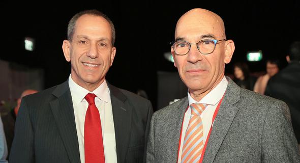 מימין: דני מרגלית ושמואל האוזר, צילום: אוראל כהן