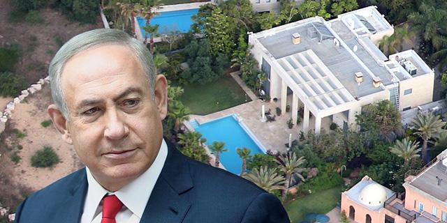 """בג""""ץ אישר: נתניהו יחל לשלם מסים על ההוצאות הפרטיות שמשולמות על ביתו בקיסריה"""