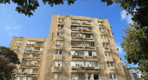 הבניינים שישופצו ברחוב לוי אשכול. יזכו בחידוש חיצוני ופנימי
