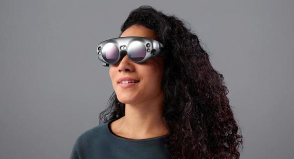 משקפיים של מג'יק ליפ. שילוב בין VR ו-AR