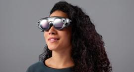 משקפיים של מג'יק ליפ שילוב בין VR ו־ AR, צילום: NagicLeap