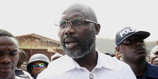 הנשיא החדש של ליבריה: כוכב כדורגל לשעבר