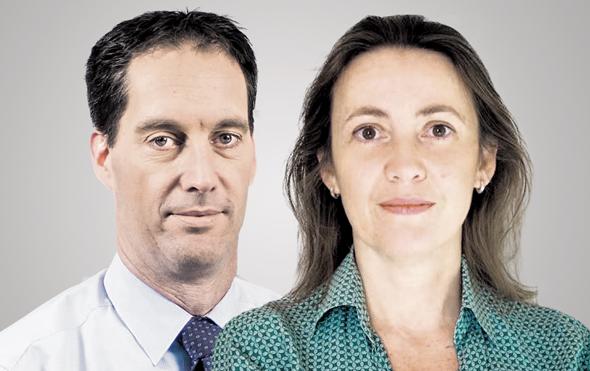 """מימין: עו""""ד קריסטינה מרטינטי ואמיר ויתקון"""
