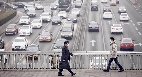 כלי רכב בסין שמזהמים את האוויר