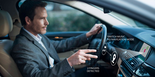 LG Partners With Israeli Company eyeSight to Provide Gesture Control for In-Car Entertainment Systems